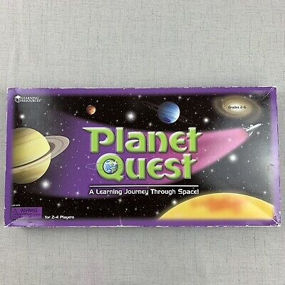 PLANET QUEST Space Educational Board Game - 100% Complete - Solar System Solar System Board Game