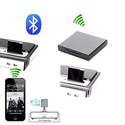 30 Pin Bluetooth A2DP Musik Empfänger Audio Adapter für iPod iPhone Lautsprecher Ipod Bluetooth Adapter