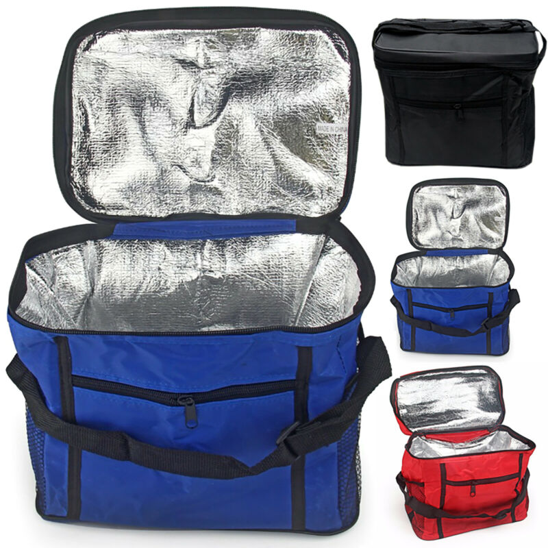Insulated Lunch Bag Women Men Kids Thermal  Cooler Tote Food