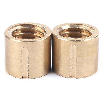 Bridgeport Milling Machine Parts Bushing X-axis Screw Copper Brass Nut Tools