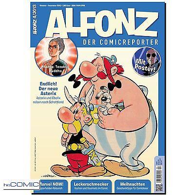ALFONZ der Comicreporter 04 2013 Asterix X Poster MARVEL Buddah Weihnachten