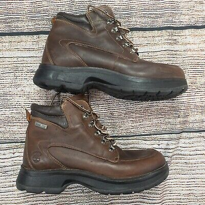 Timberland Women's Goretex Brown Leather Boots Size 9 M