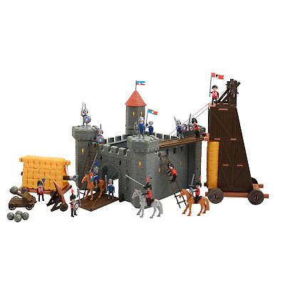 Ritter Burg Ritterburg Schloss inkl. Spielfiguren; für Rollenspiel Fantasy Spiel
