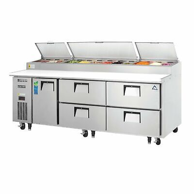 Everest Eppr3-d4 93 Pizza Prep Table Refrigerated Counter