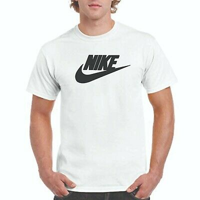 NIKE T-shirt, Nike logo on white T,