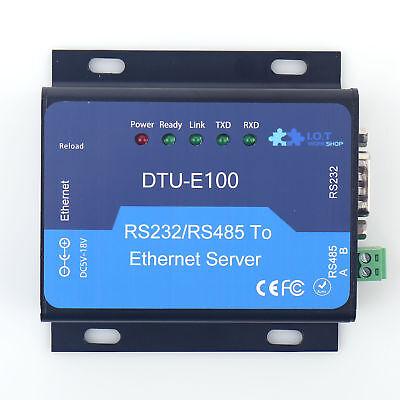 DTU Rs232/RS485 go to Ethernet Serial Server RJ45 Converter TCP/IP Ethernet Ip Ethernet Intercom