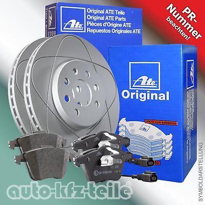 ATE Powerdisc Bremsenkit VW Passat 3B5 Ø288 VORN bel. - Rost Pad Kit