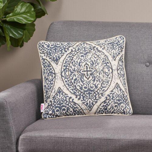 Davian Modern Fabric Throw Pillow Cover Home & Garden