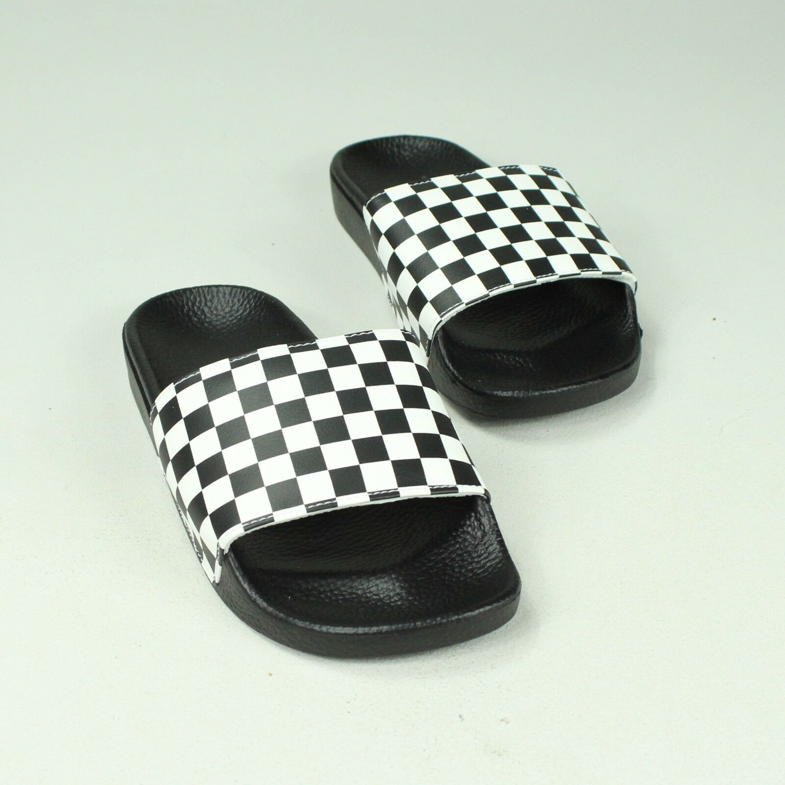 15a522bd5928b0 Details about Vans Slip-On Check Sandals Sliders Slipper Brand New in UK Size  7