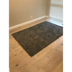 Beautiful dark grey rug