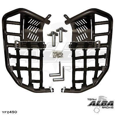 Yamaha Blaster YFS 200  Nerf Bars  Pro Peg  Alba Racing   Black Black  212 T7 BB
