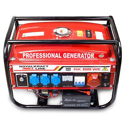 4-Takt RK8500WE Stromerzeuger Stromgenerator Generator Notstromaggregat E-Start