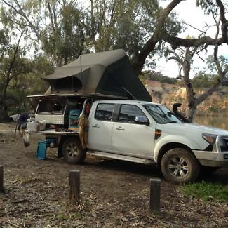 Roof Top Tent - Aussie Traveller & tray top canvas | Cars u0026 Vehicles | Gumtree Australia Free Local ...