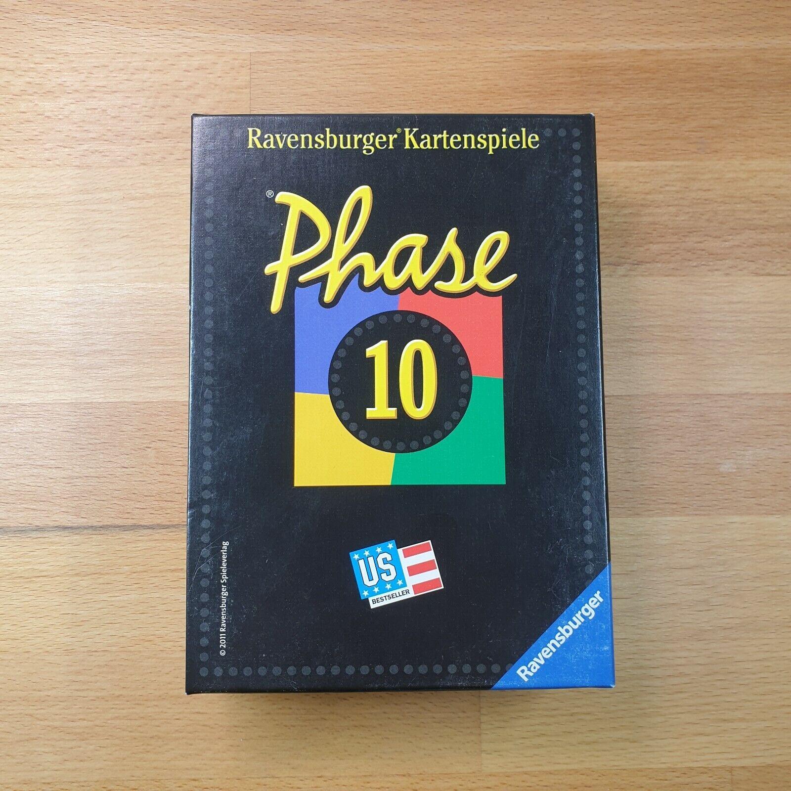Phase 10 RAVENSBURGER - Kartenspiel - komplett