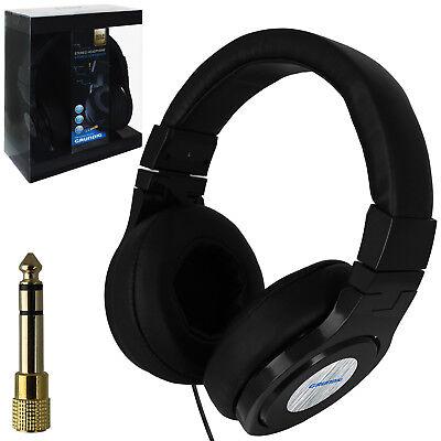 Kopfhörer Cd (Grundig Stereo Kopfhörer Lautsprecher Headset Bügelkopfhörer Handy MP3 Musik CD)