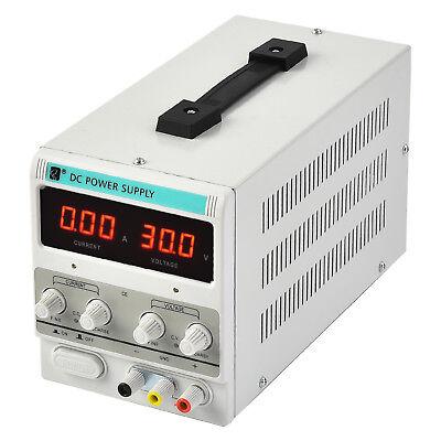 New 30v 10a Dc Power Supply Adjustable Variable Dual Digital Lab Test