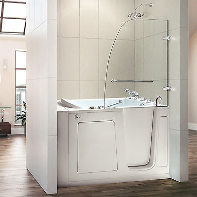 """Used, 30""""x 54"""" Premium Hydrotherapy Walk In Bath Tubs - Right Door for sale  Tolleson"""