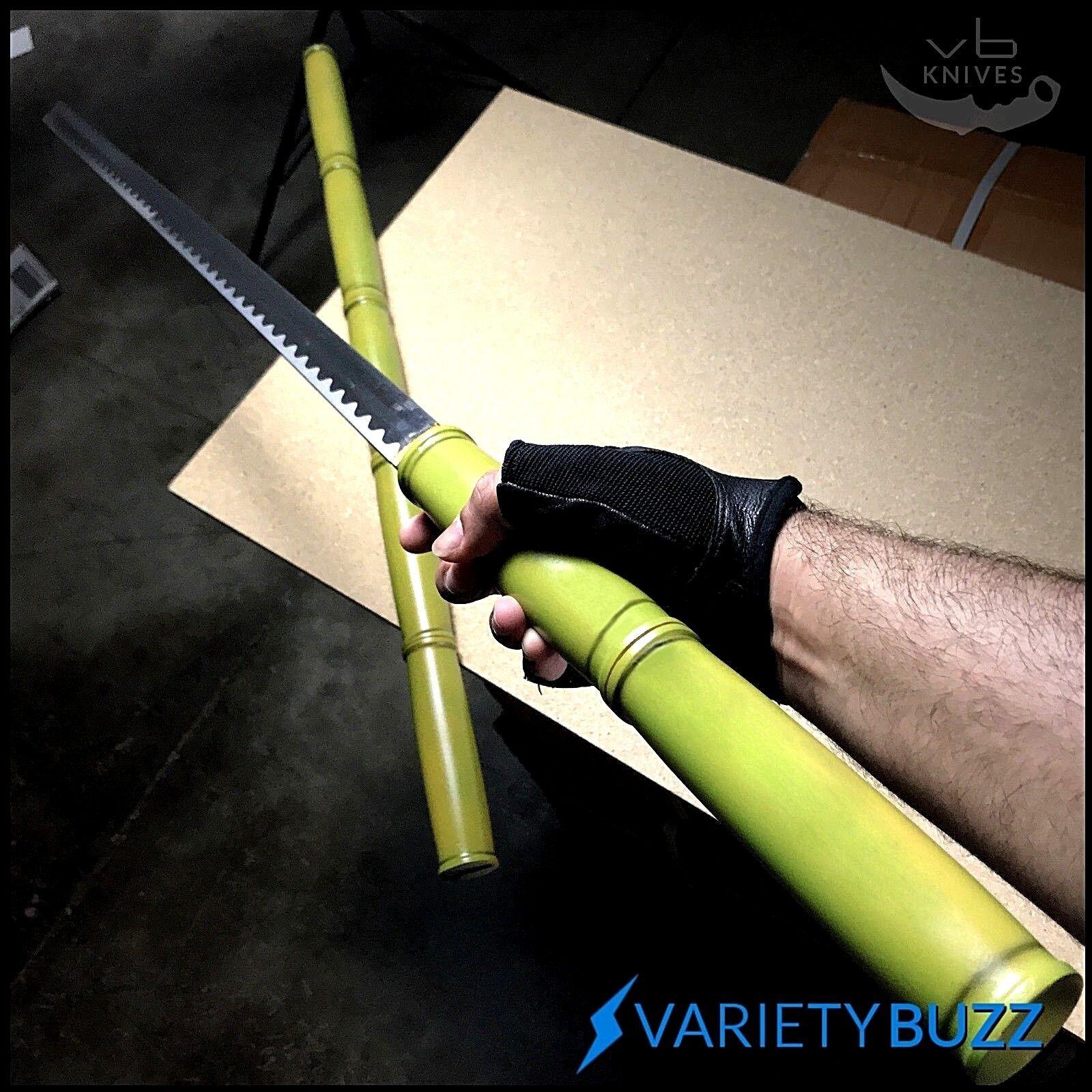 """40"""" Musashi Natural Bamboo Shirasaya Japanese Samurai Katana Sword Ninja Bushido"""