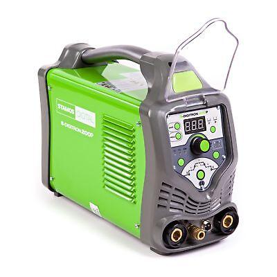STAMOS Wig-Tig Schweißgerät Dc Hf Inverter Puls MMA 200A 230V Schlauch Digital