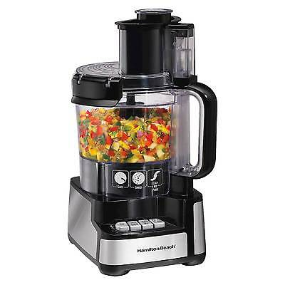 Hamilton Beach Stack and Snap™ 12 Cup Food Processor - Black 70725
