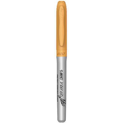 Bic Intensity Permanent Marker Fine Point Adobe Orange Single Marker