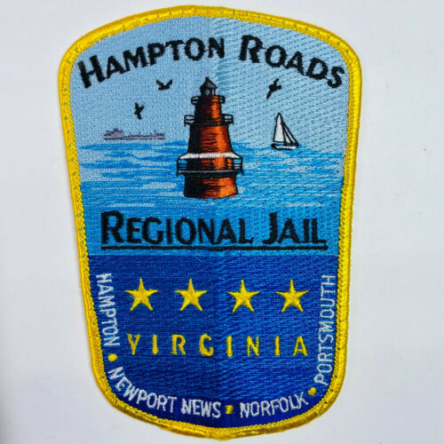 Hampton Roads Regional Jail Newport News Norfolk Portsmouth Virginia Patch (B1)