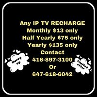 Any IP TV Recharge