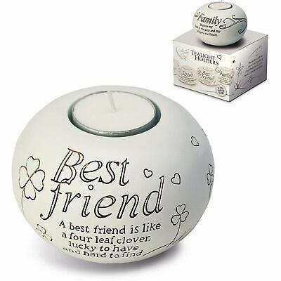Arora Said With Sentiments Best Friend Tealight Candle Holder Friendship
