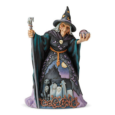 Jim Shore Halloween 'Cast Your Eyes This Way' Witch with Crystal Ball 6004326](Witch With Crystal Ball)