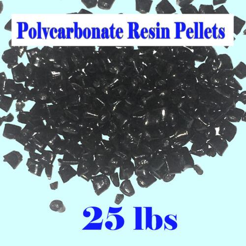 Polycarbonate Black Lexan Resin Pellets R213-CONC 25lb