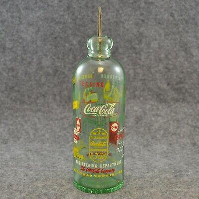 1961 Coca Cola Convention Bottle Hutchinson Engineering Miami Beach W/ Stopper