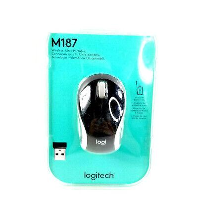 Usado, Logitech M187 BLACK Tiny Mouse   segunda mano  Embacar hacia Mexico