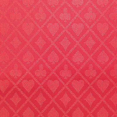 PRO Suited Speed Cloth for Poker Tables - Solid Red (6 Feet) - Casino Table Cloths