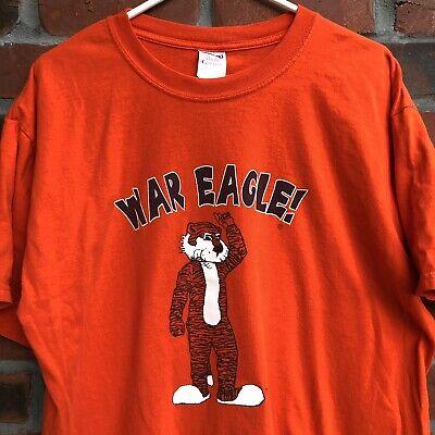 VTG Auburn Tigers War Eagle T Shirt  L College Football NCAA Basketball Sports Auburn Tigers College Basketball