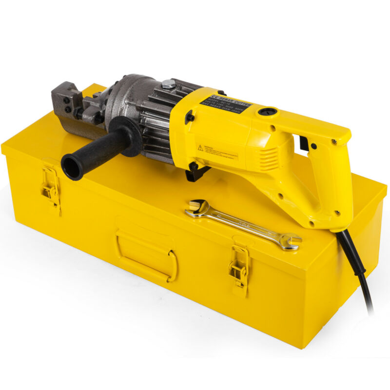 "RC-16 5/8"" Capacity Hydraulic Rebar Cutter Electric Thread Rod Cordedhydraulic"