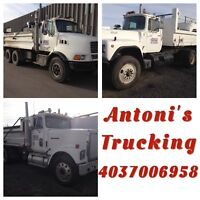 Tandem trucks for hire- great rates!!