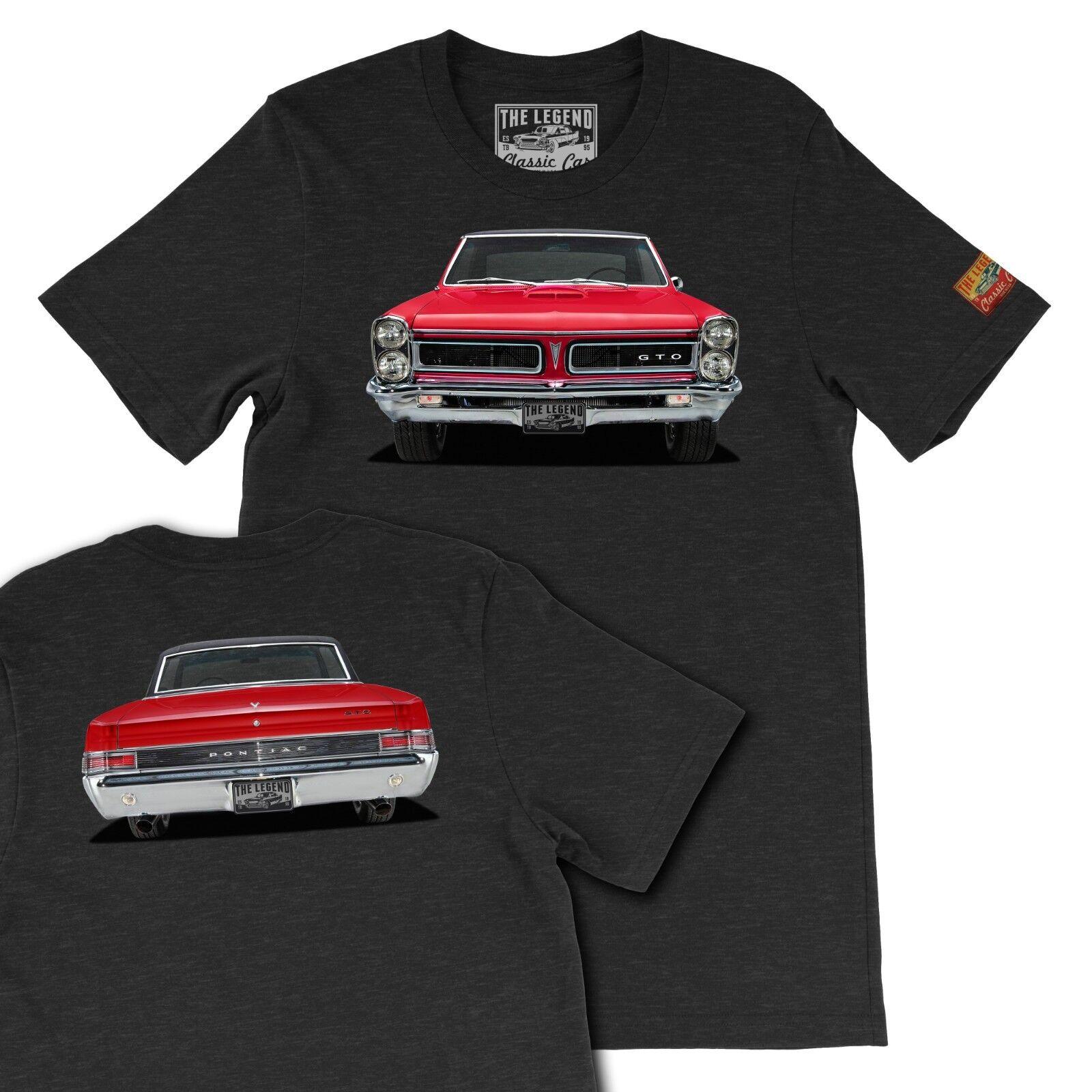 1965 GTO American Muscle Legend Classic Car Art ,Gift Men's