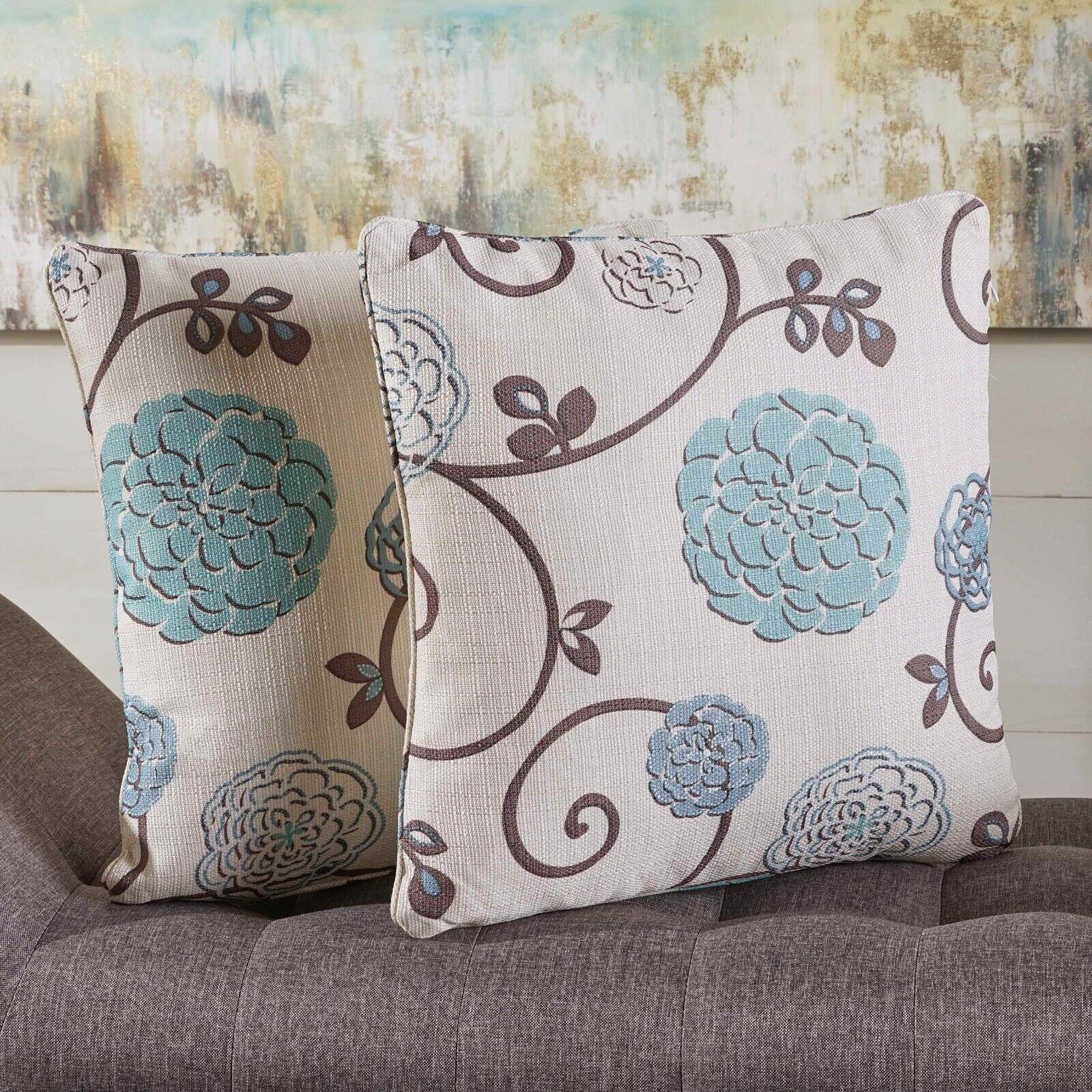 Velvin New Velvet Throw Pillow (Set of 2) Home & Garden