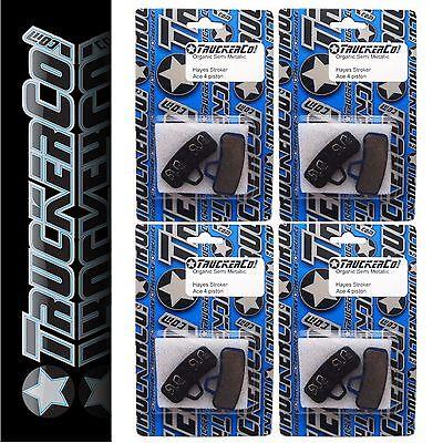 4pr TruckerCo High Performance Disc Brake Pads Hayes Stroker Ace osm16 (Hayes Stroker Disc Brakes)