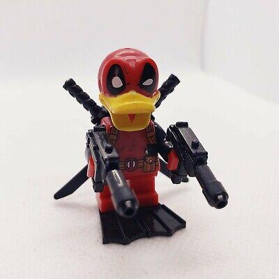 DEADPOOL DUCK Marvel Custom Minifigure Duckpool