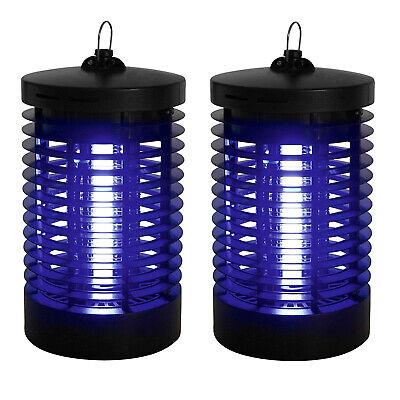 2x Insektenfalle UV | Mückenlampe Insektenvernichter Elektrisch | Fliegenfänger