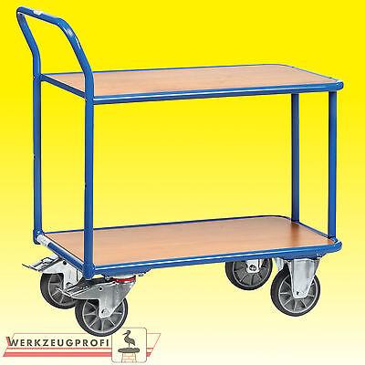 FETRA Tischwagen 2600 400/120 kg Tragkraft  Etagenwagen Transportwagen