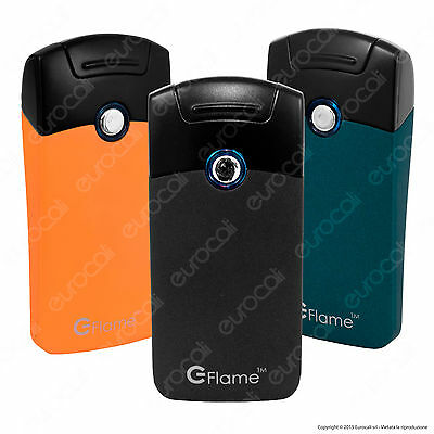 1 Accendino E-FLAME ARC Lighter USB Elettronico Antivento al Plasma Senza Fiamma