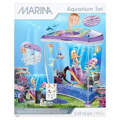 Marina 2.65 US Gal Aquarium Set - Little Mermaid