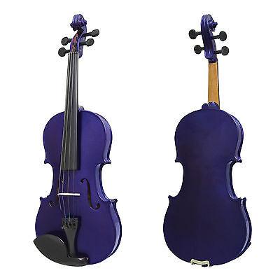 Mendini Solid Wood Violin Size 4/4 3/4 1/2 1/4 1/8