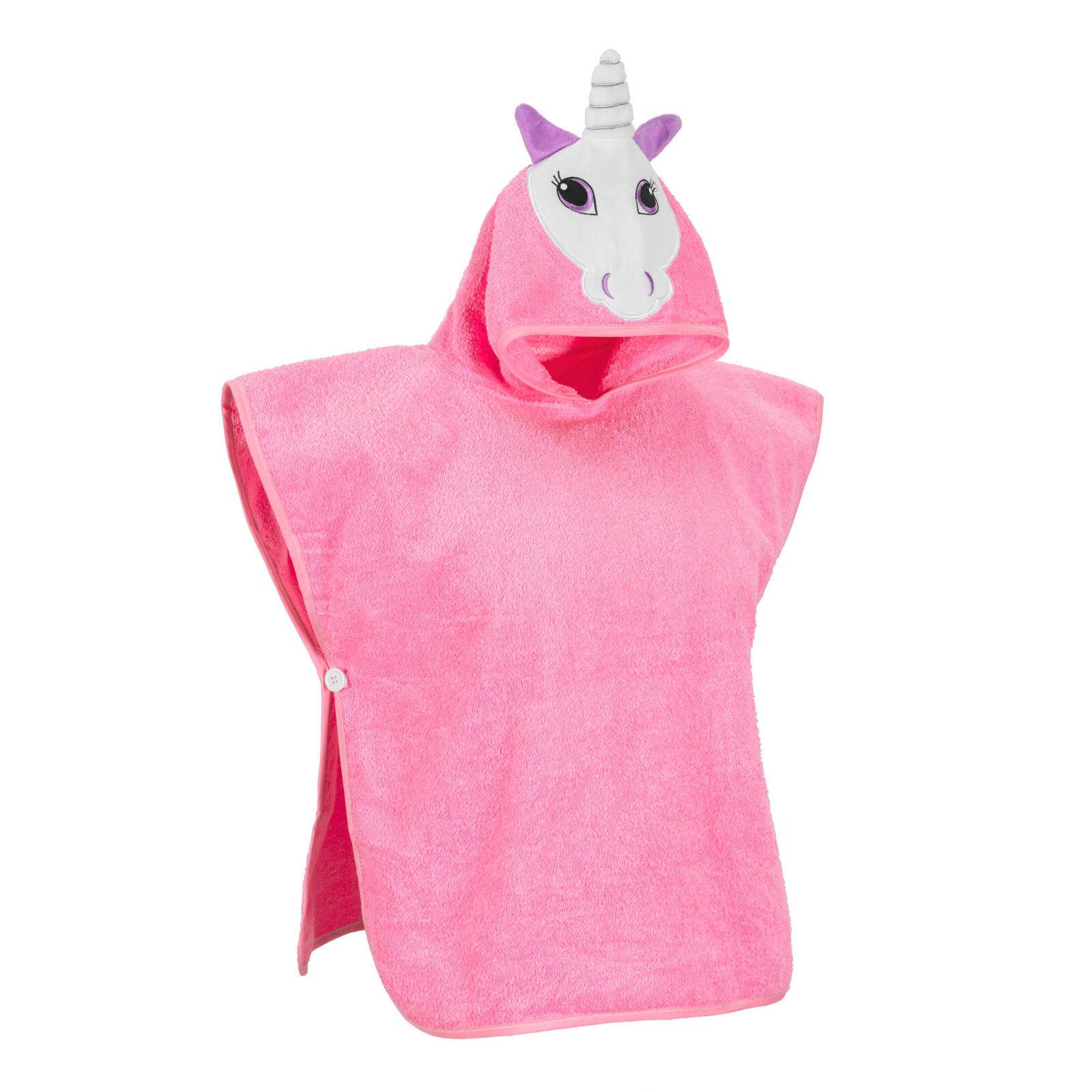 Hudz Kidz Softest Quick Dry Hooded Kids Towel for Toddler -