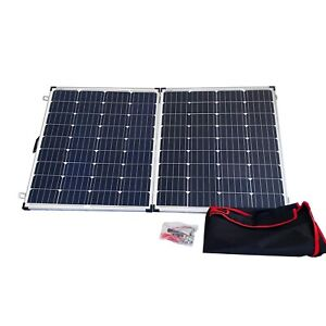 250W Ultra Light Weight Folding/Foldout Solar Panel Setup For Camping