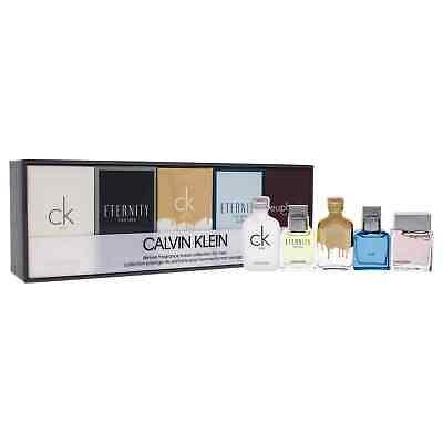 Calvin Klein Deluxe Fragrance Collection for Men - 5 Pc Mini