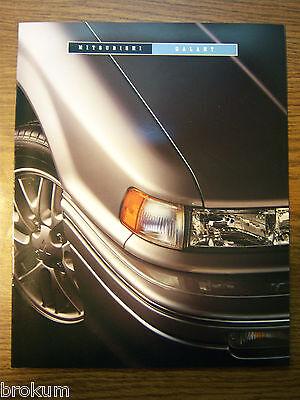 1993 MITSUBISHI GALANT 6 PAGE SALES BROCHURE MINT ORIGINAL (BOX 433)