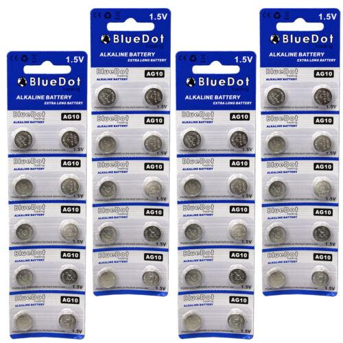 40 AG10 LR1130 LR1131 389A 389 1.5 Volt Alkaline Button Cell Battery USA US Ship
